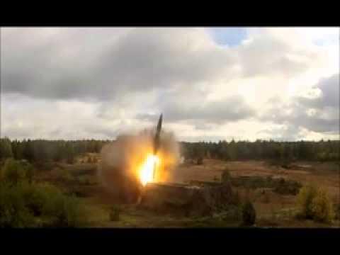 Misil Ruso 9K720 Iskander y BM-30 Smerch Tornado