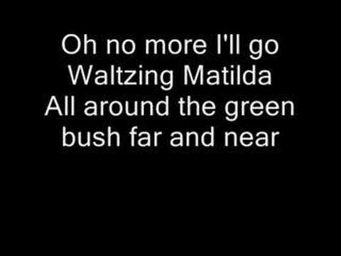 The Band Played Waltzing Mathilda