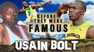 USAIN BOLT - Before They Were Famous