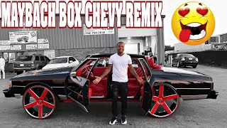 INSANE MAYBACH BOX CHEVY MONTE CARLO ON 32s CRAZY NEW AIR BRUSH