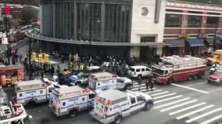 New York: plus de 70 blessés dans l'accident d'un train de banlieue