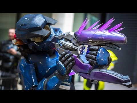 Making a Real-Life Halo Needler Prop