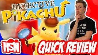 Detective Pikachu! (Quick Review)