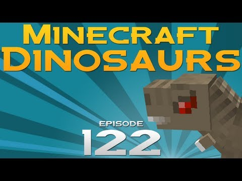 Minecraft Dinosaurs! - Episode 122 - Let's Move a Dino