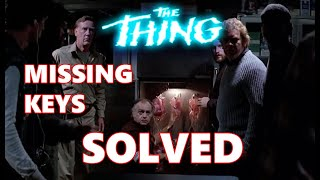 John Carpenter''s THE THING - Who sabotaged the blood bank?