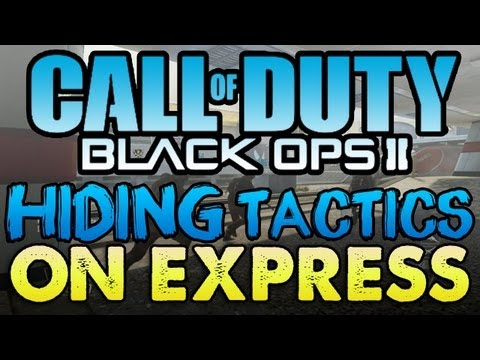 HIDING TACTICS on Express (BLACK OPS 2)