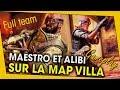 MAESTRO ET ALIBI GAMEPLAY SUR LA MAP VILLA ! FULL TEAM - RAINBOW SIX SIEGE