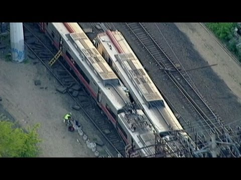 Two Metro North Commuter Trains Collide in Connecticut