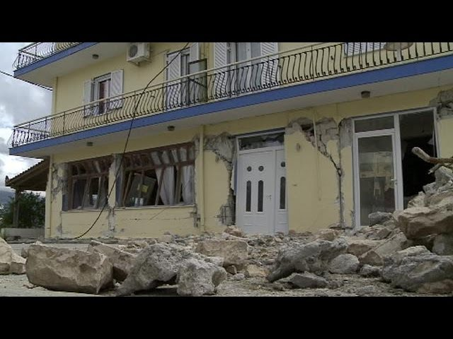 Greece: recovery and rebuilding in quake-hit Kefalonia