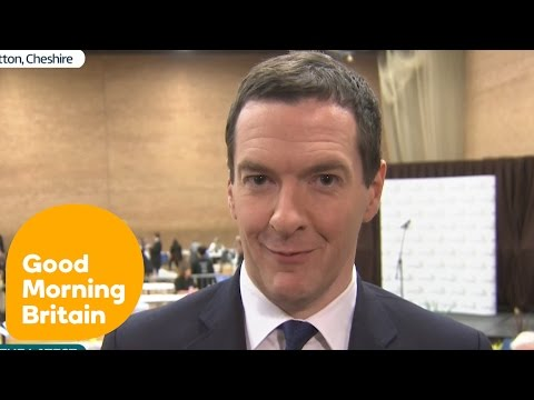 George Osborne On A Slim Conservative Majority | Good Morning Britain