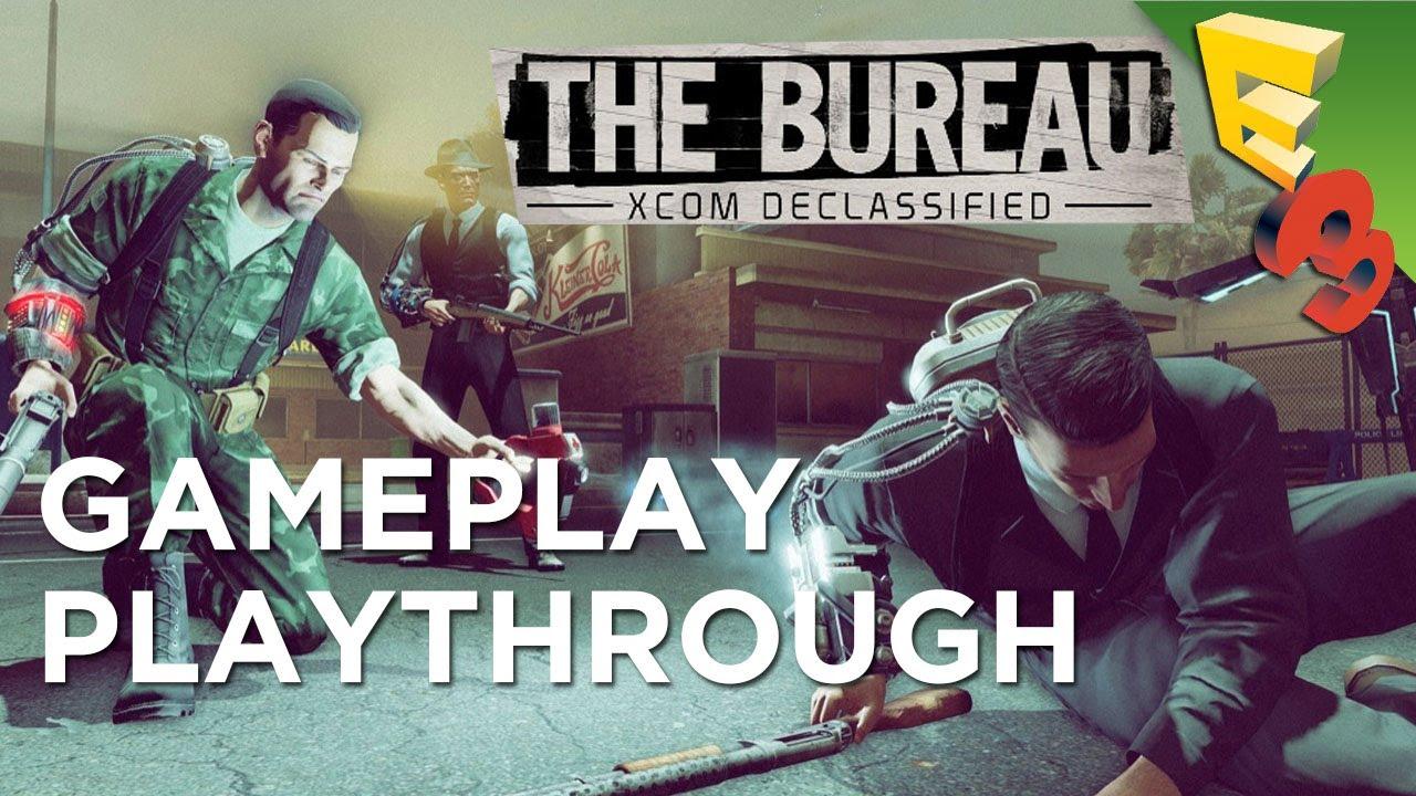the bureau xcom declassified new gameplay playthrough adam sessler at e3 2013 youtube. Black Bedroom Furniture Sets. Home Design Ideas