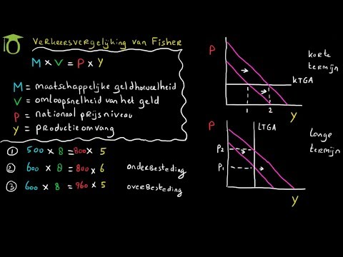 Verkeersvergelijking van Fisher - (economie)