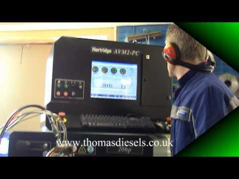 Testing a Yanmar TNV range diesel pump