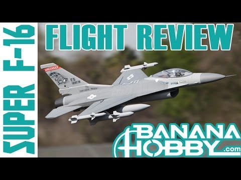 F-16 Fighting Falcon 360 Degree Vector!  Super Scale RC EDF JET Flight Review in HD!