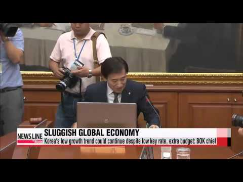 BOK governor worries about slowing growth of global economy   이주열