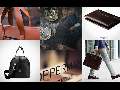 Introducing Oppermann Of London - Affordable Luxury Leather Goods & Swanfield Wallet Review