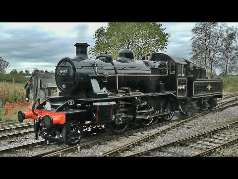 46447 Returns! The East Somerset Railway - 26/10/14
