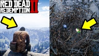 If You Sit Here in Red Dead Redemption 2 Something Mysterious HAPPENS!