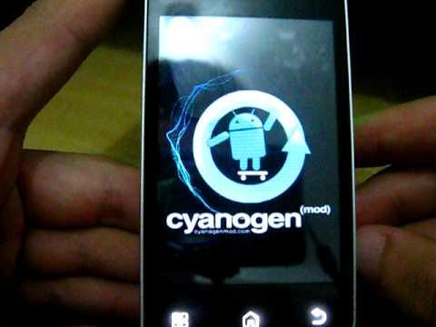 Motorola Backflip MB300 Android 2.2 Froyo Unofficial CyanogenMOD