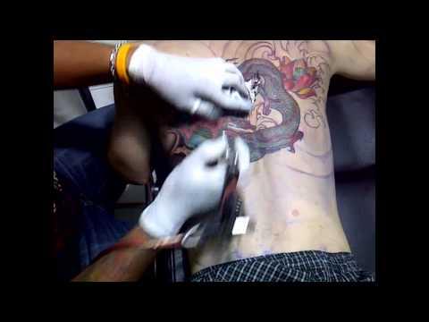 มังกร สักลายมังกร Dragon tattoo ช่างเก๋