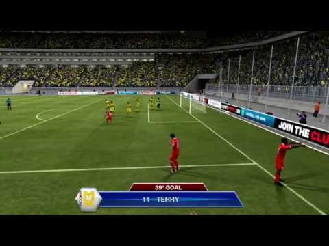 Fifa 13|Pro clubs|Anita a'int good in goal