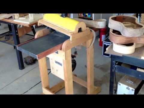 Luthier Drum/Thickness Sander