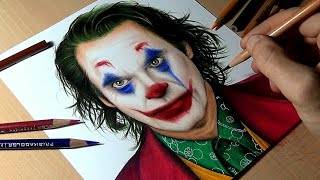 Drawing The Joker - Joaquin Phoenix