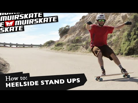 How To: Heelside Stand Up Slide with Jimmy Riha | MuirSkate Longboard Shop