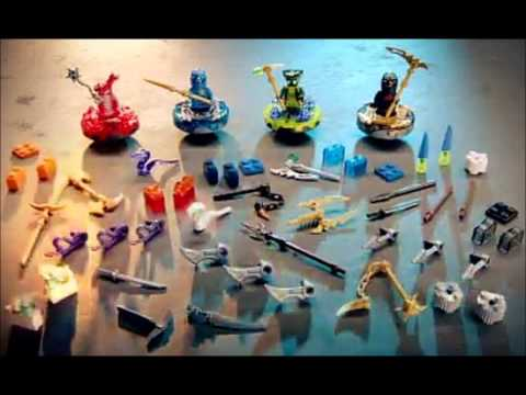 lego ninjago summer sets and spinners 2012