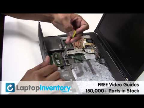 IBM LENOVO BATTERY T60 T61 Replacement CMOS Motherboard Guide - Install Fix Replace - Laptop