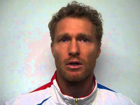 Dmitry Tursunov at GB v RUS Davis Cup tie