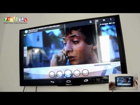 Adaptateur Miracast DLNA FHD 1080p PTV 6000 - un petit test