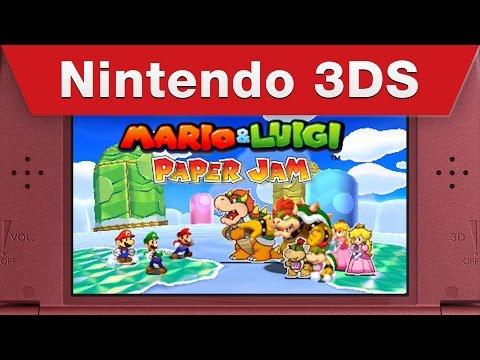 Mario & Luigi: Paper Jam - Just the Fax Trailer