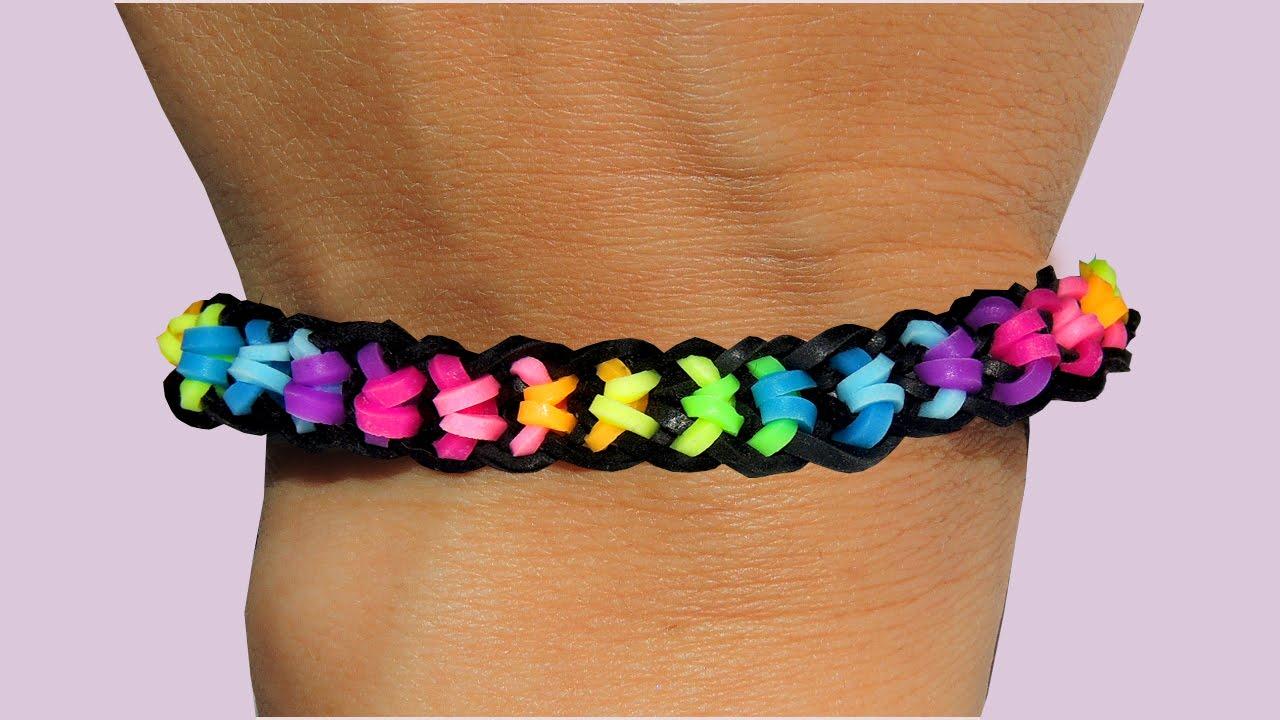 rainbow loom nederlands boxed bow bracelet loom bands
