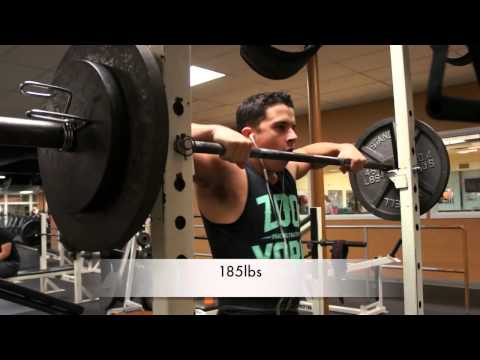 Shoulder Press Motivation with Nick Wright Image 1