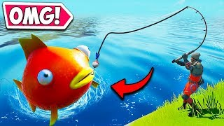 *NEW* MEGA FISH IS INSANE!! - Fortnite Funny Fails and WTF Moments! #715