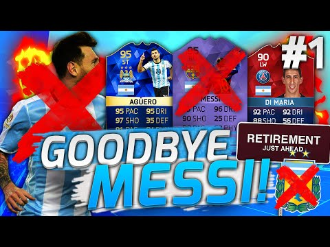 BYE BYE LIONEL MESSI!! - FIFA 16 FUT DRAFT CHALLENGE! FIFA ULTIMATE TEAM DEUTSCH