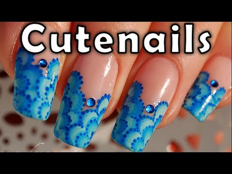 One stroke for beginners: 3 easy paths to succeed by cute nails
