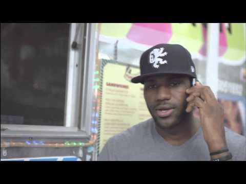New LeBron Samsung Commercial 10-30-12
