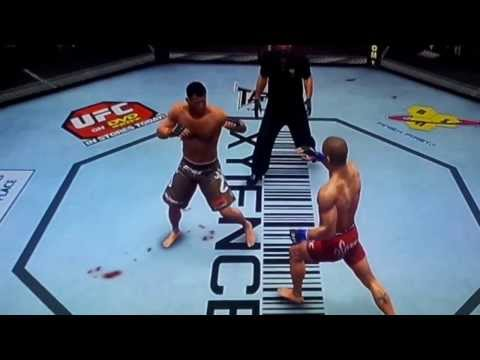 George st Pierre headkick against matt hughes ufc 2010 ps3 Image 1