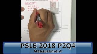 PSLE 2018 P2Q4   Measurement