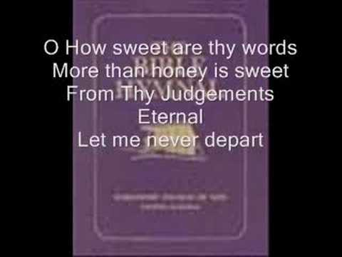 Hymnal - O How Love I Thy Law