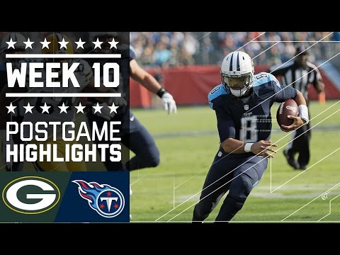Packers Vs Ans Nfl Week 10 Game Highlights