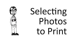 How do I Select a Photo to Print?