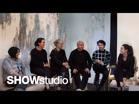 SHOWstudio: Paris Spring/Summer 2014 Round Up Panel Discussion