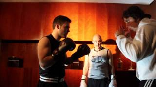kickboxing training - Making of 4 Short film EHDM
