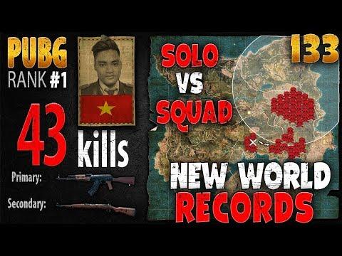 [Eng Sub] PUBG Rank 1 - Rip113 - 43 kills [AS] Solo vs Squad - PLAYERUNKNOWN'S BATTLEGROUNDS #133 #1
