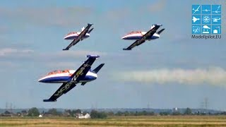 HORIZON DISPLAY-TEAM 3X AERO L-39 ALBATROS RC TURBINE JET FORMATION FLIGHT GERMAN CHAMPIONSHIP