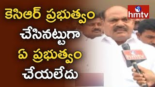 TRS MLA Bajireddy Govardhan Reddy Face To Face | Red Sorghum Farmers | hmtv News