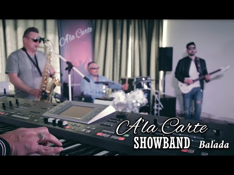 A'LA CARTE SHOWBAND Partyzenekar - esküvői party zenekar, rendezvény zenekar